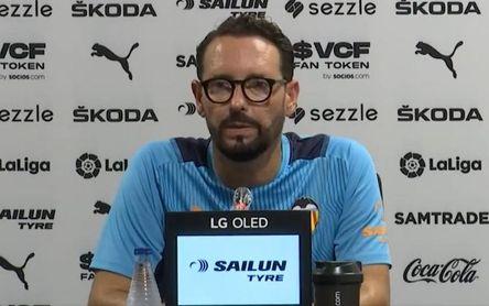 """Bordalás, antes del Sevilla-Valencia: """"La competición dirá si hay diferencia"""""""