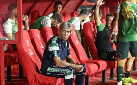 """Pellegrini, sobre su liderazgo, el 'nuevo Fekir', la portería del Betis, el """"juego directo"""" de Osasuna, Rodri..."""