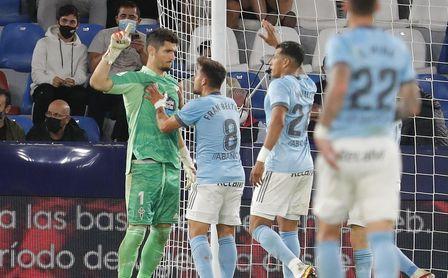 0-2: El Celta se estrena y el Levante sigue sin ganar