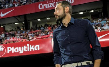 """Machín: """"Estoy muy orgulloso del trabajo que hicimos en el Sevilla FC"""""""