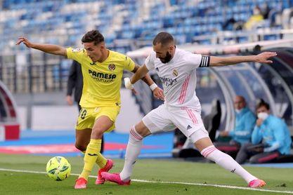 El Villarreal perdió en sus tres últimas visitas al Real Madrid