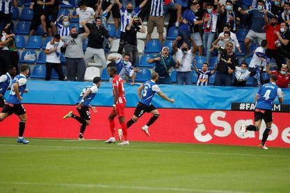 1-0. Batacazo del Atlético ante el Alavés