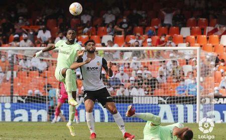 Valencia CF 1-1 Athletic Club: Los de Bordalás rescatan un punto con 10 en el alargue