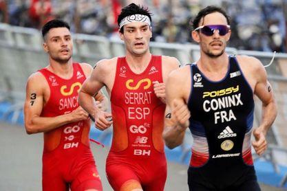 Coninx gana el oro, los españoles Sánchez y Serrat, plata y bronce europeo