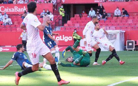 Sevilla FC 2-0 RCD Espanyol: En-Nesyri y Rafa Mir, bendita competencia