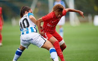Real Sociedad 2-0 Sevilla FC Femenino: Aguantó una hora