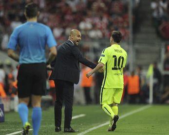 Messi espera a Guardiola