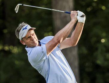 Luke Donald, un exnúmero uno de golf en el Abierto de España