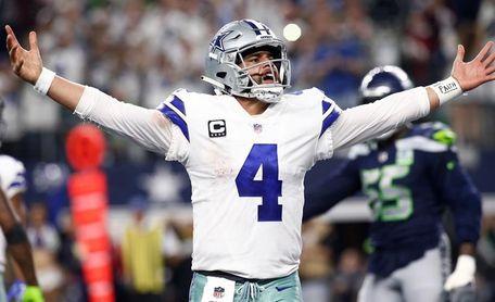 41-21. Ante los Eagles, Prescott protagoniza un regreso triunfal con los Cowboys