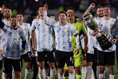 Argentina-Italia inaugurará duelos de vencedores de Eurocopa y Copa América