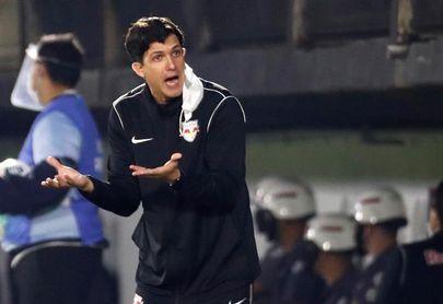 Bragantino se entrenó con sus descansados titulares para partido con Libertad