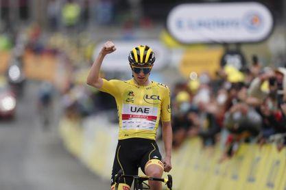 Pogacar es el nuevo líder del ránking de la UCI, Alaphilippe es cuarto