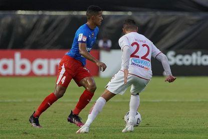 0-2. Santos de Guápiles sella en Panamá el boleto a cuartos de final en la Liga Concacaf
