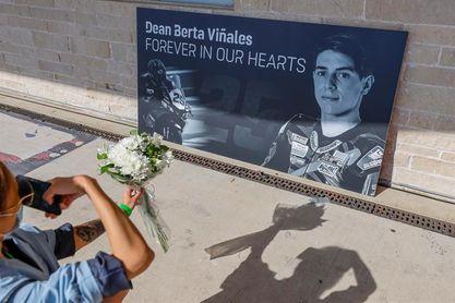 Todo MotoGP rinde un homenaje a Dean Berta Viñales en Austin
