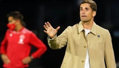 """Robert Moreno sitúa al Sevilla FC """"al mismo nivel"""" que Atlético y Real Madrid"""