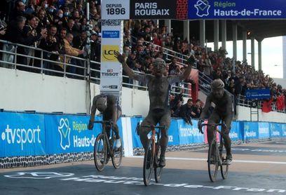 Colbrelli gana la épica 118 edición de la París-Roubaix