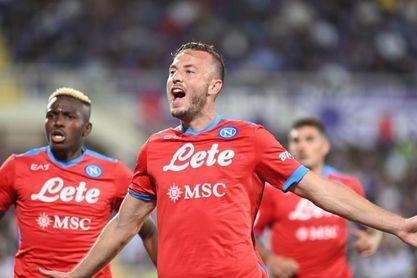 Lozano y Rrahmani prolongan el pleno del Nápoles, líder con 7 triunfos de 7