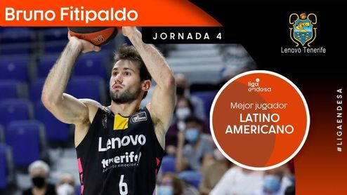 Fitipaldo, Mejor Latinoamericano de la cuarta jornada