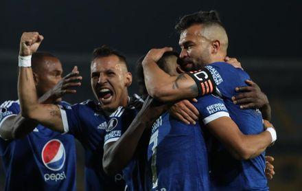 Un gol de Ricardo Márquez consolida al Millonarios en la liga colombiana