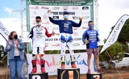 Excelente regreso del sevillano José Antonio Aparicio en el andaluz de motocross