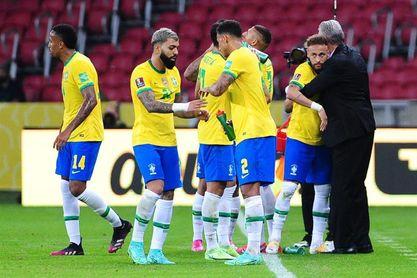 Brasil recibirá a Colombia y Paraguay en Sao Paulo y Belo Horizonte
