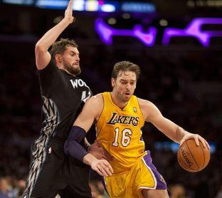 Los Lakers anunciarán la retirada de la camiseta de Gasol en fecha próxima