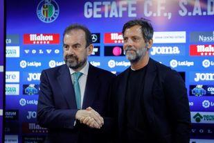 Quique Sánchez Flores regresa al Getafe