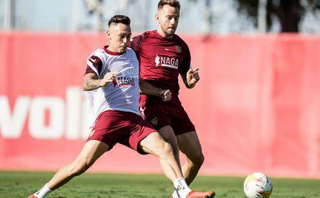 Nuevo entrenamiento sin los internacionales ni En-Nesyri