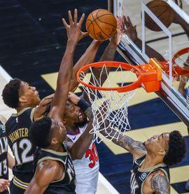 125-104. Los nuevos Knicks debutan con triunfo ante los Pacers de Duarte