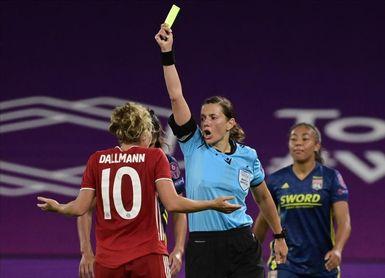 La ucraniana Monzul encabeza el equipo arbitral femenino para el Andorra-Inglaterra