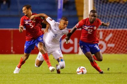 0-0. Honduras y Costa Rica siguen sin ganar en las eliminatorias de la Concacaf