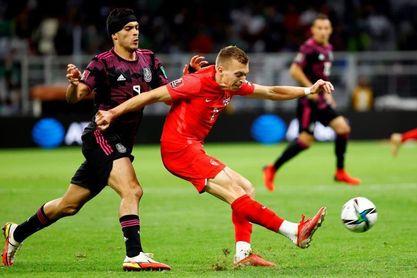 1-1. México empata con Canadá en el Azteca y pierde liderato de la Concacaf