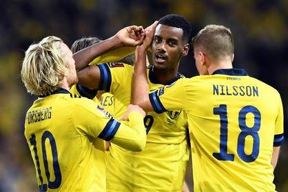 3-0. Suecia logra una goleada reparadora contra Kosovo