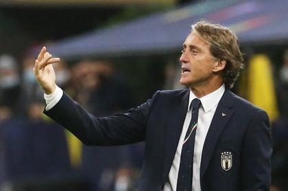 """Mancini: """"Jugar con diez contra España es lo peor que te puede pasar"""""""