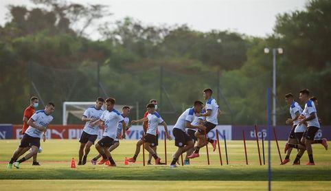 Paraguay realiza primer entrenamiento tras frenar a Argentina y mira a Chile