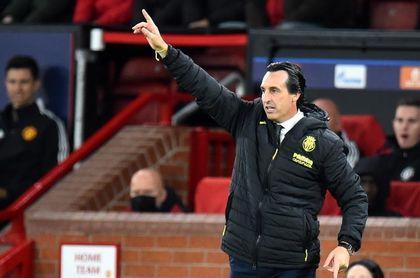 Emery, el técnico del Villarreal con la media más baja de derrotas