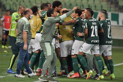 Palmeiras empata con Bahía y el Bragantino asume la tercera plaza en la Liga
