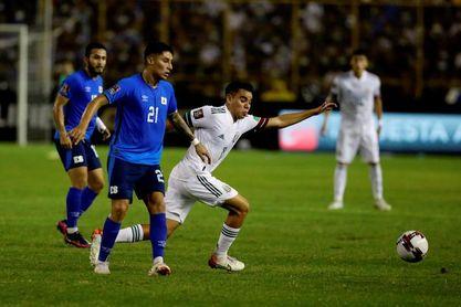 2-0. México derrota de visita a El Salvador y reafirma su liderato en Concacaf