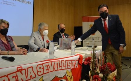 """Rafael Carrión: """"Quiero el Sevilla sea de los sevillistas, es lo que he intentado toda mi vida"""""""