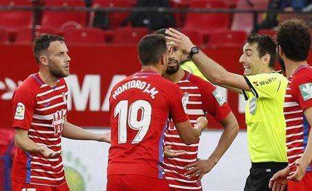 El árbitro que hizo volver al Sevilla al campo dirigirá en Balaídos