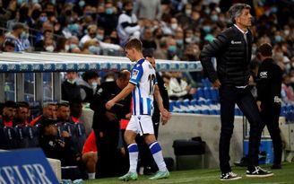 Aihen Muñoz (Real Sociedad), un partido de sanción