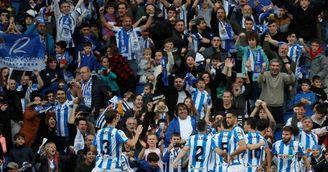 La Real Sociedad estrenará césped en el derbi ante el Athletic